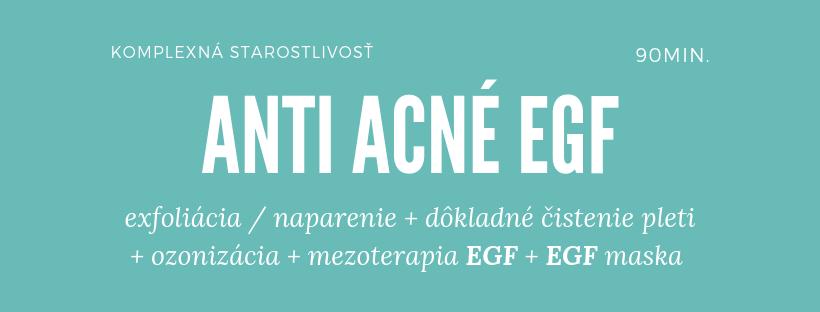 EGF starostlivosť